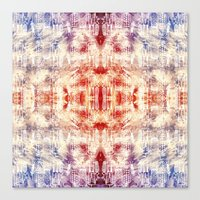 macaroon Canvas Prints featuring Macaroon Coso by Hannibal the Animal