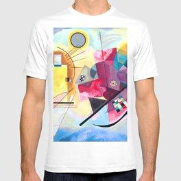 Wassily Kandinsky - Yellow Red Blue T-shirt
