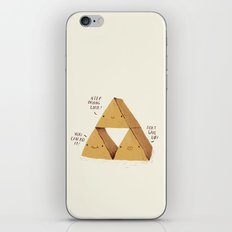 the try force. iPhone & iPod Skin