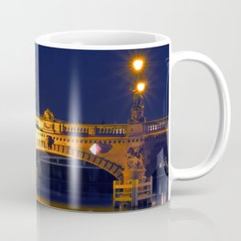 Nocturnal Lights on the river Spree in Berlin Coffee Mug