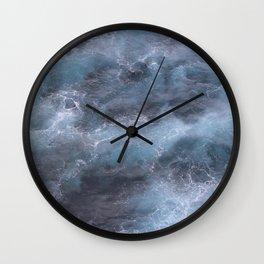Dark and Stormy Ocean Wall Clock