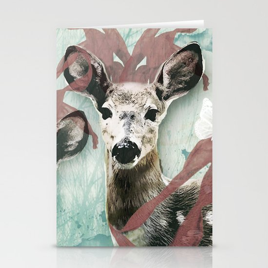 majestic fawn Stationery Cards