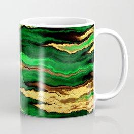 Gold & Emerald Coffee Mug