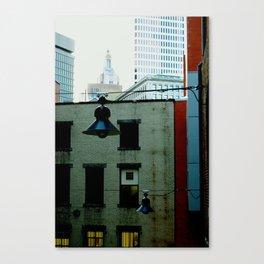 Through PVD Buildings Canvas Print