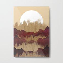 The autumn land Metal Print