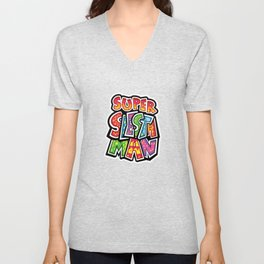 Super Siesta Man Unisex V-Neck
