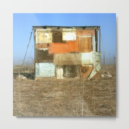 Double Exposure with Rauschenberg in Mind, 2007 Metal Print