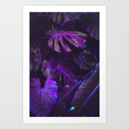 Fluorescence Water Art Print