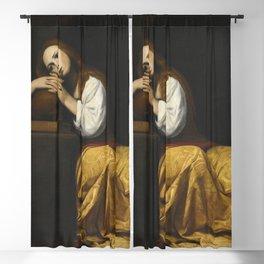 Giacomo Galli - Saint Mary Magdalene Blackout Curtain