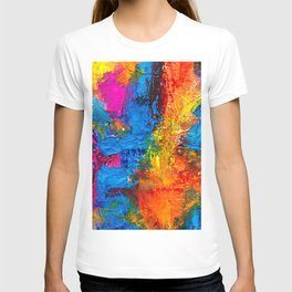 Expressionism Paster Painting Ultra HD T-shirt