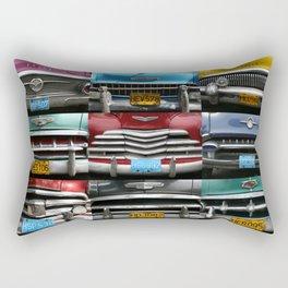 Cuba Car Grilles - Horizontal Rectangular Pillow