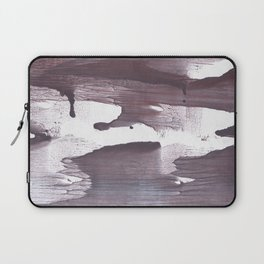 Gray claret abstract Laptop Sleeve