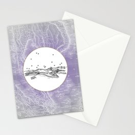 Pattaya City, Thailand City Skyline Illustration Drawing Stationery Cards