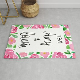Team Amy x Laurie - Pink Palette Rug