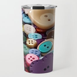 Buttoned up Travel Mug