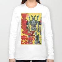 manga Long Sleeve T-shirts featuring Manga 01 by Zuno