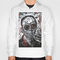 hunter s thompson Hoodies featuring Hunter S Thompson by Matt Pecson
