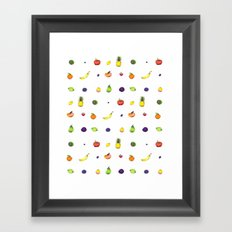 Fruit Faves Framed Art Print