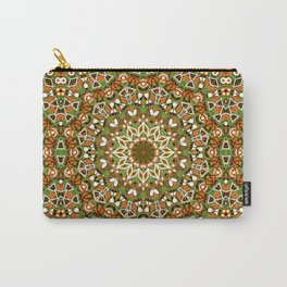 Colorful ethnic ornament . Carry-All Pouch