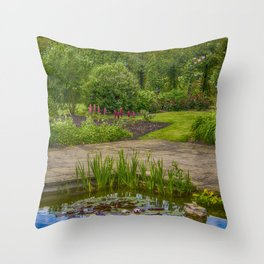 Reflected Clouds Throw Pillow