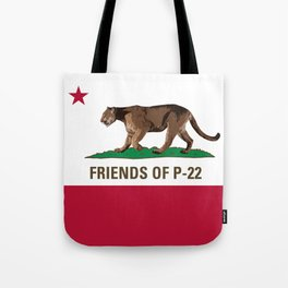 Friends of P-22 Tote Bag