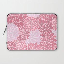 Bubblegum Pink Dahlias Laptop Sleeve