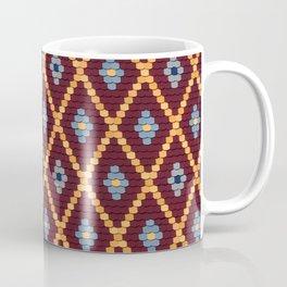 sibiu romania Evangelic cathedral church roof texture Coffee Mug