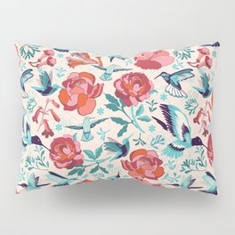 Hummingbird summerdance Pillow Sham