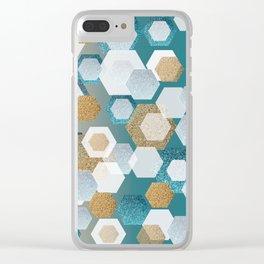 glitter Clear iPhone Case