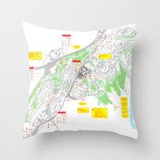 Haugerud Urban Center Throw Pillow