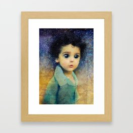 NIGHT CHILD Framed Art Print
