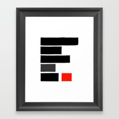 Redacted Framed Art Print