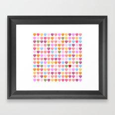 And, I found YOU! Framed Art Print