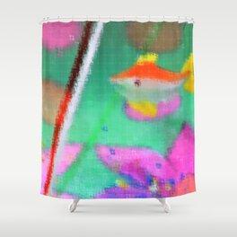 Fishy Art Shower Curtain