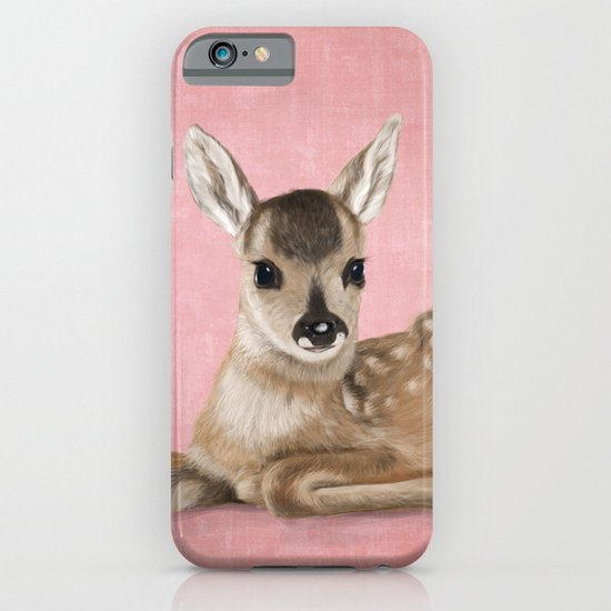 Small fawn iPhone & iPod Case
