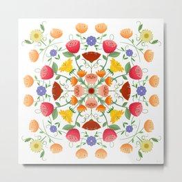 A Symphony Of Floral Delights Metal Print