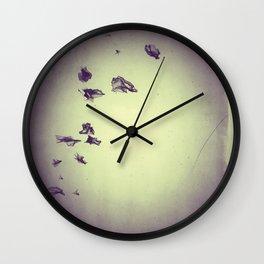 The Flocking Dreams Wall Clock
