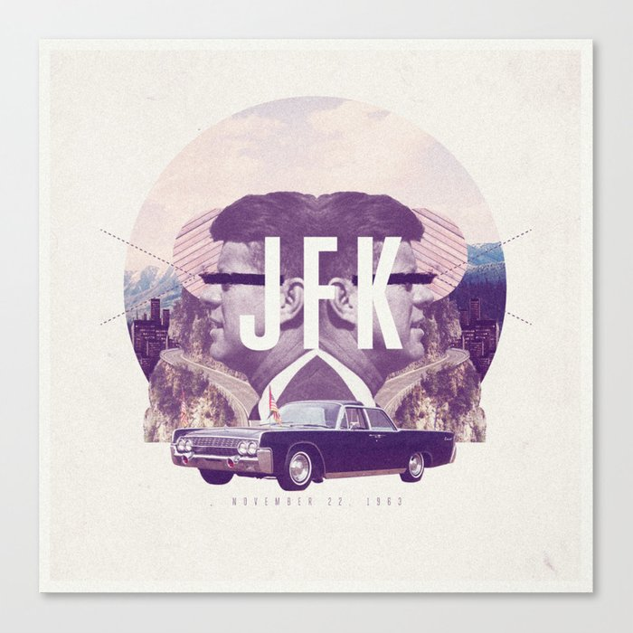 JFK Canvas Print