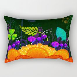 Delivery Ants Rectangular Pillow