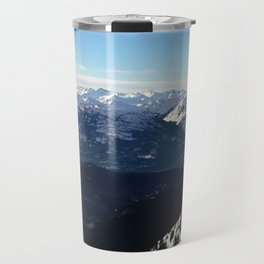 Crispy light air up here Travel Mug