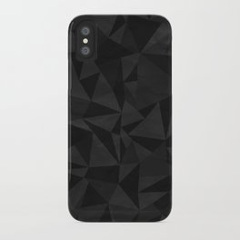 Dirty Dark Geo iPhone Case