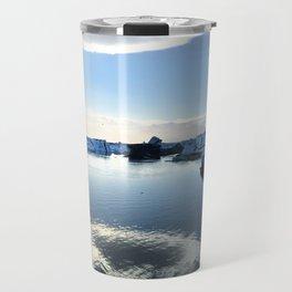 Icebergs Travel Mug