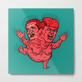 The GOP's 2-Headed Monster Metal Print