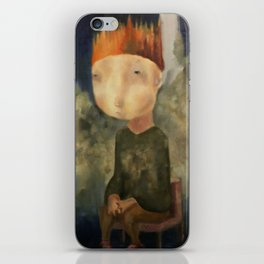 Little King iPhone Skin