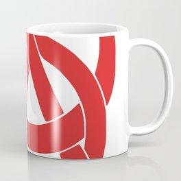 Anarcho-Communist Red Coffee Mug