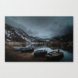 Lake Sabrina Boat Landing Canvas Print