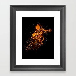 Close to sun Framed Art Print