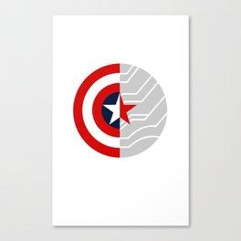 Cap-Bucky design Canvas Print