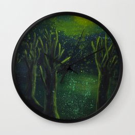 Edge of the Woods Wall Clock