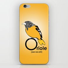 O is for Oriole iPhone & iPod Skin